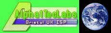 Web hosted by Alpha1TecLabs Bristol UK ISP