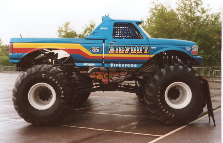 bigfoot monster truck logo